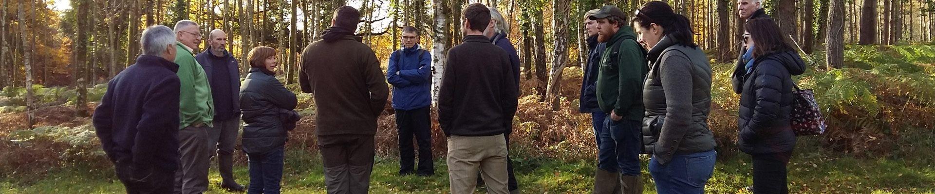 Woodland management course