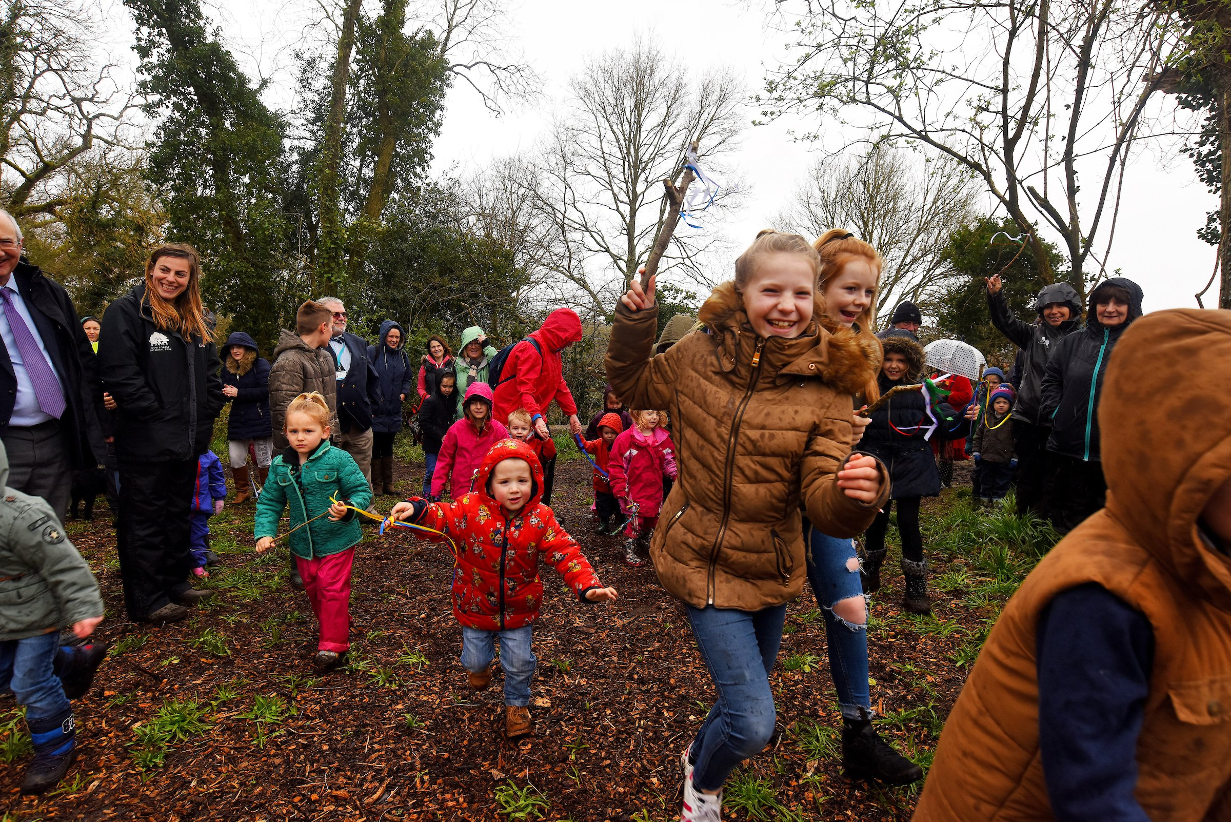 Holbury Manor wild play site opening April 2018