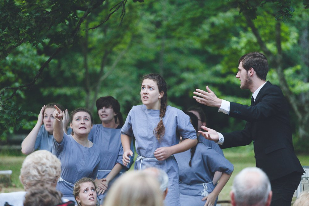 The Crucible performance by Forest Forge Theatre as past of the 2017 Arts Festival