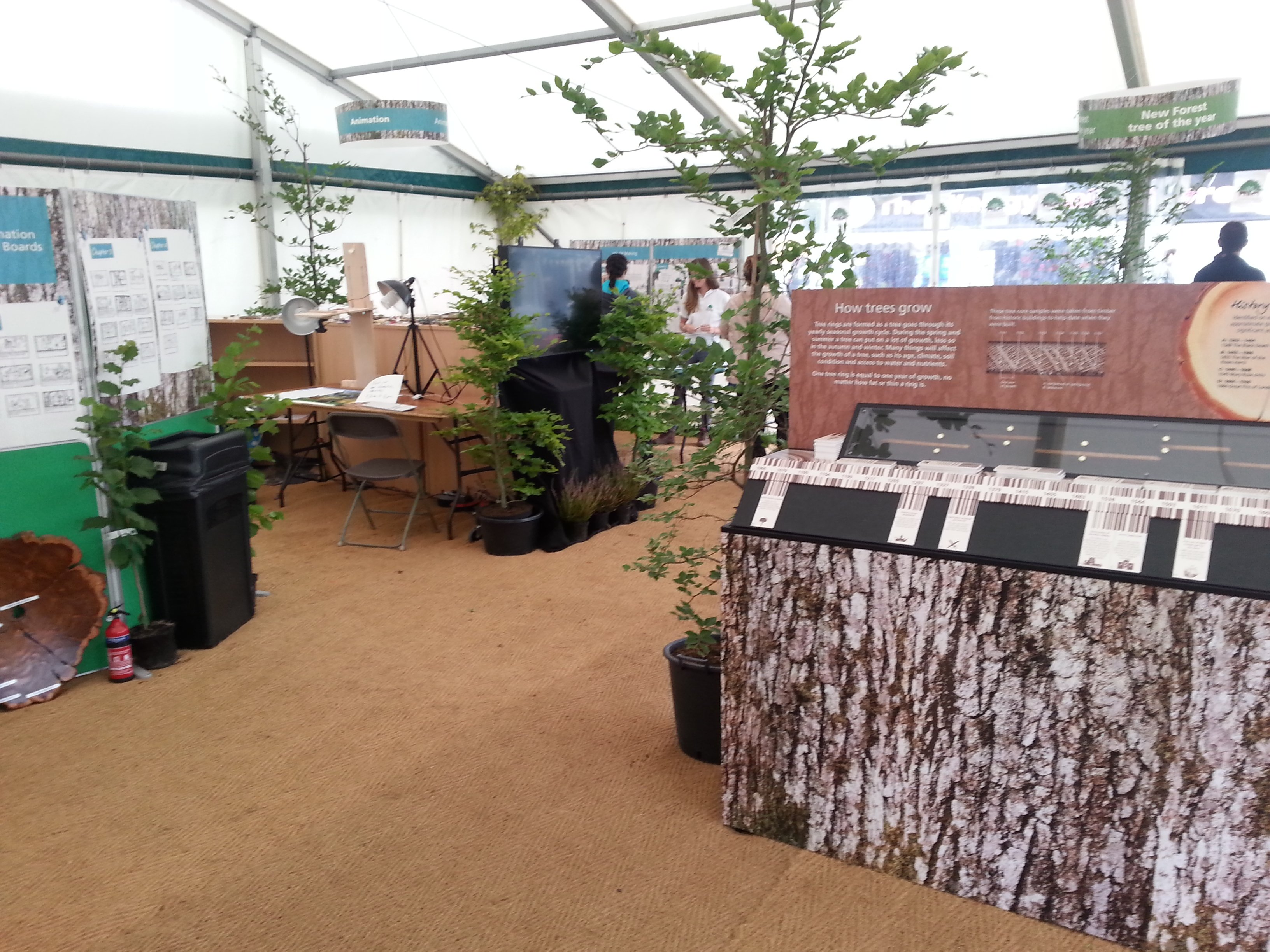 NPA New Forest Show stand 2017