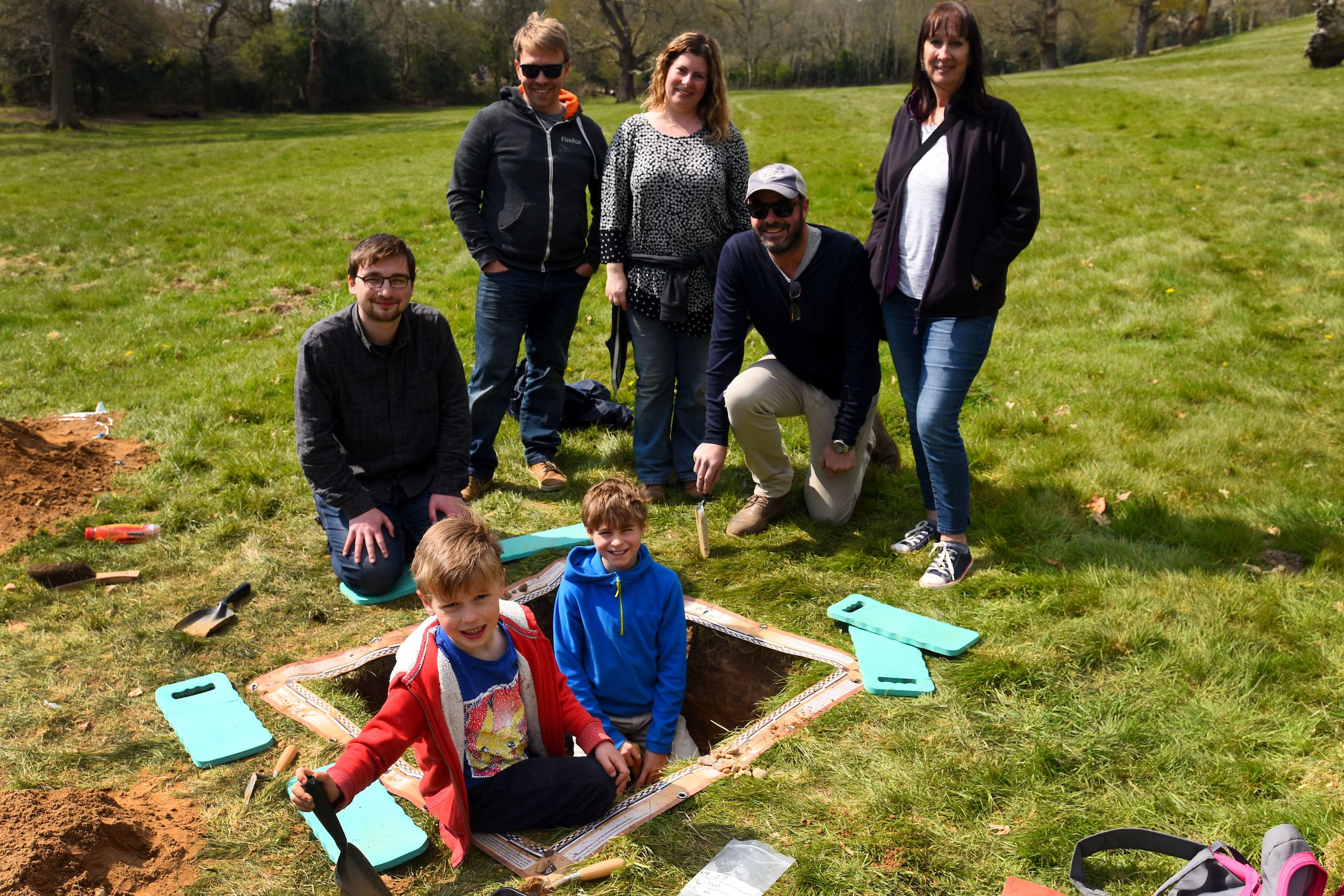 Dig Burley family event