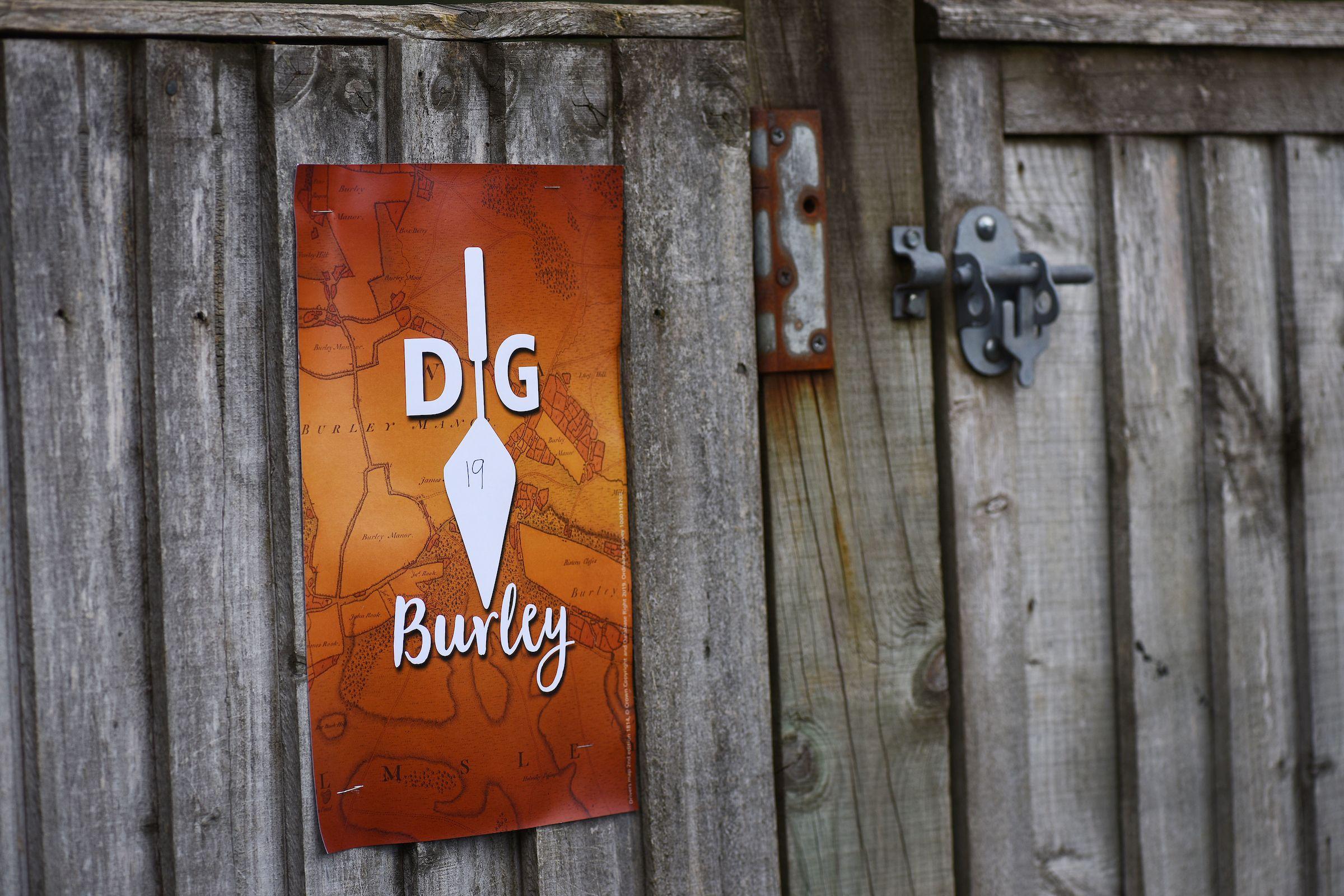 Dig Burley sign