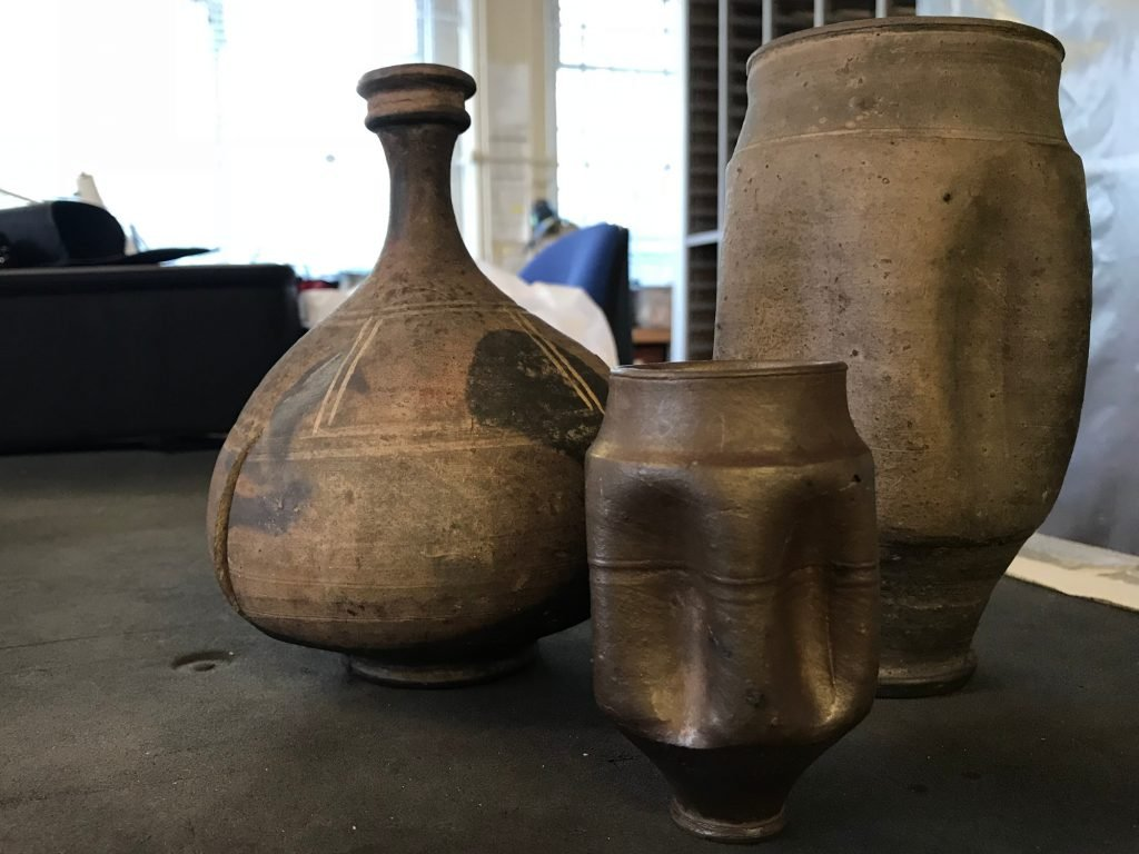 Roman pots from the Durden Collection at the British Museum
