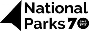 An image of the National Parks 70th anniversary logo