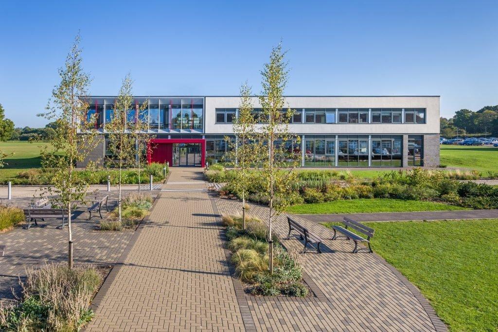 Brockenhurst College Stem building - building design awards 2018