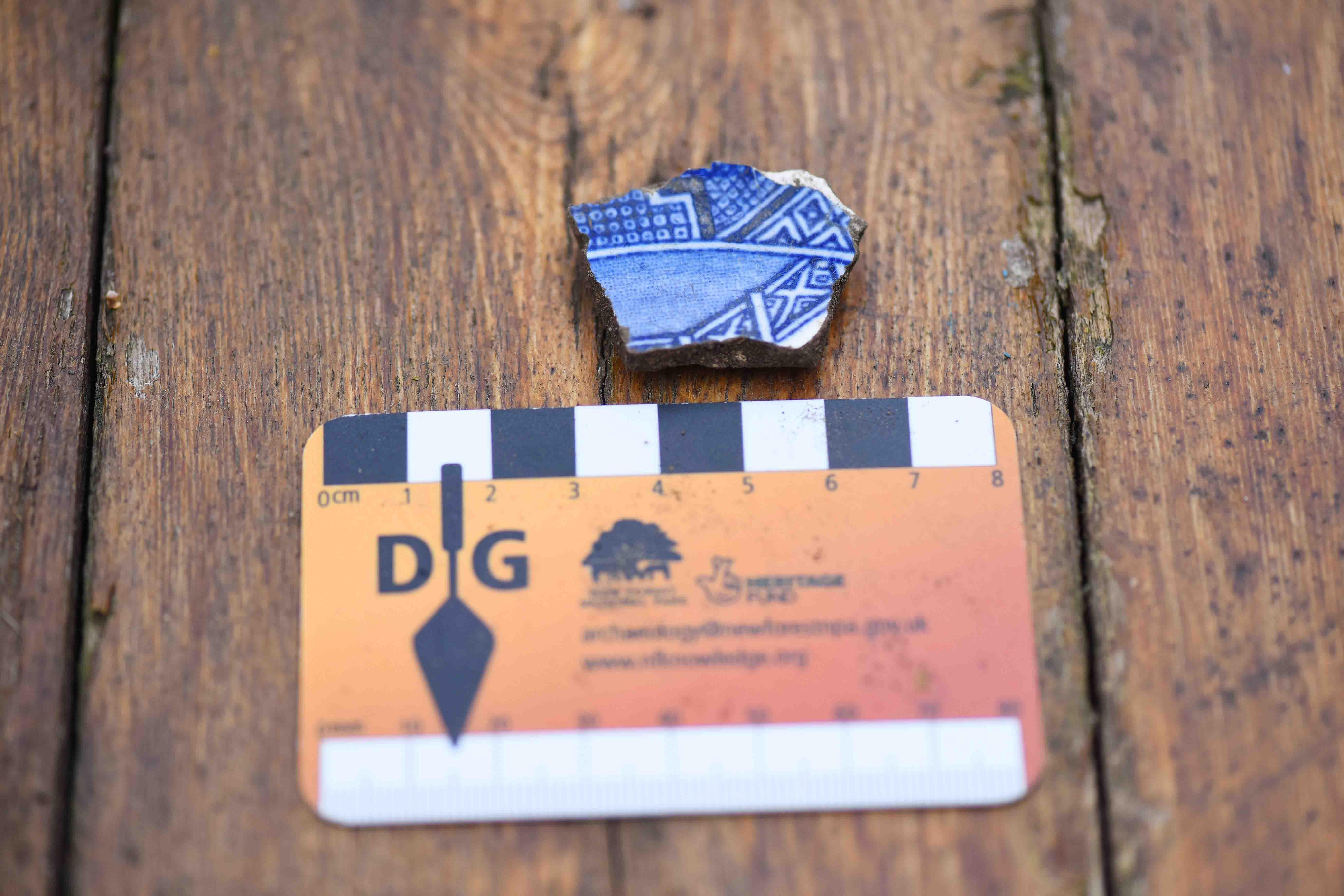 Dig Burley find: pottery