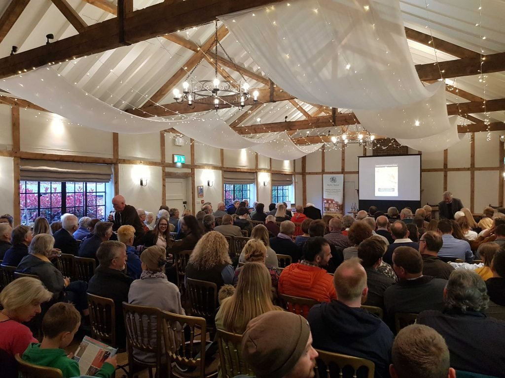 Creator and series producer of Time Team, Tim Taylor, gave a guest talk at Burley Manor