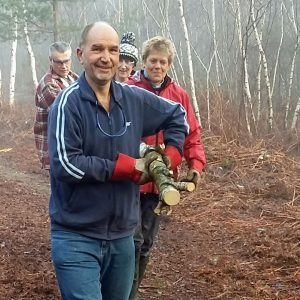New Forest volunteer Ian Searle