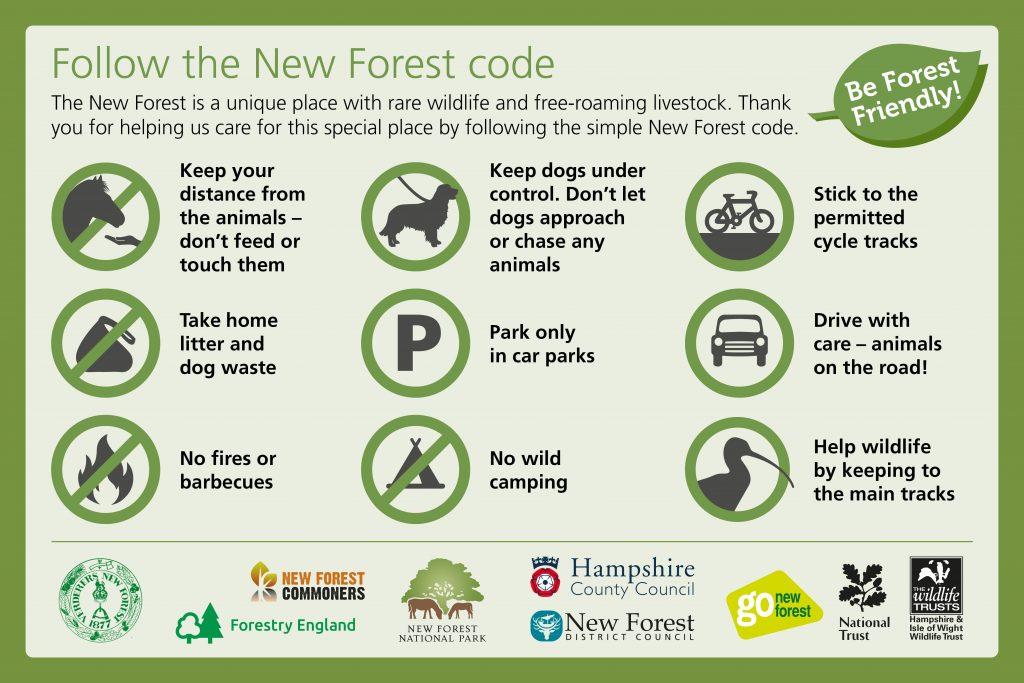 New Forest code website or Facebook post