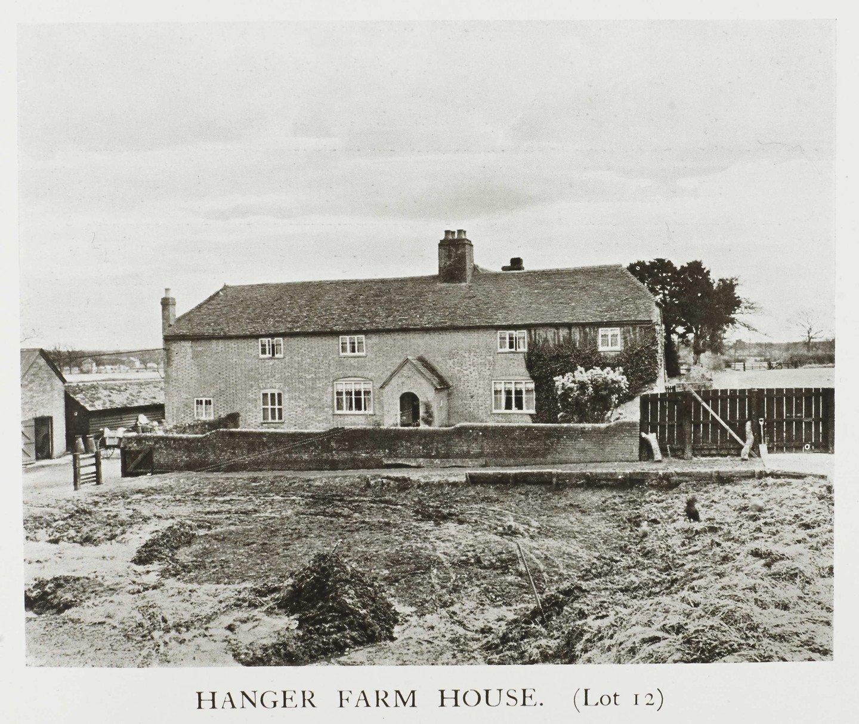 Historic photograph of Hanger Farm House