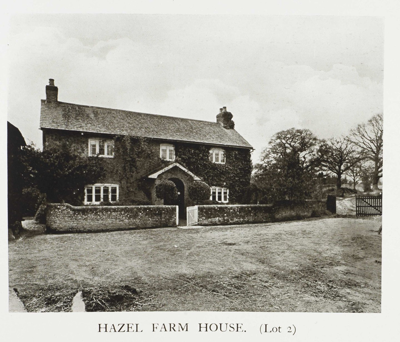 Historic photograph of Hazel Farm House