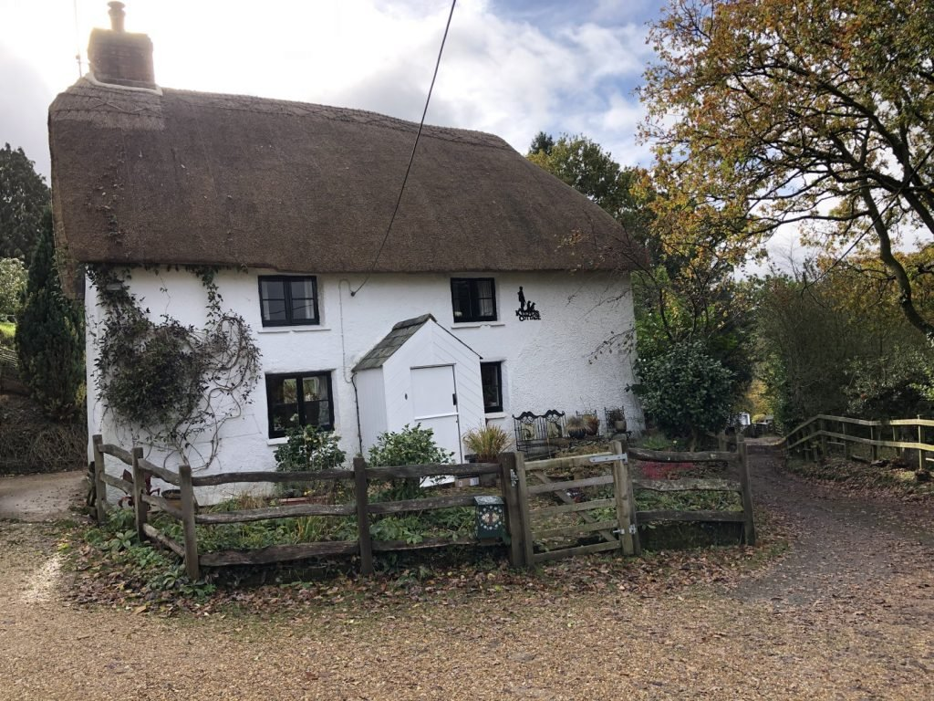 An old thatched cottage