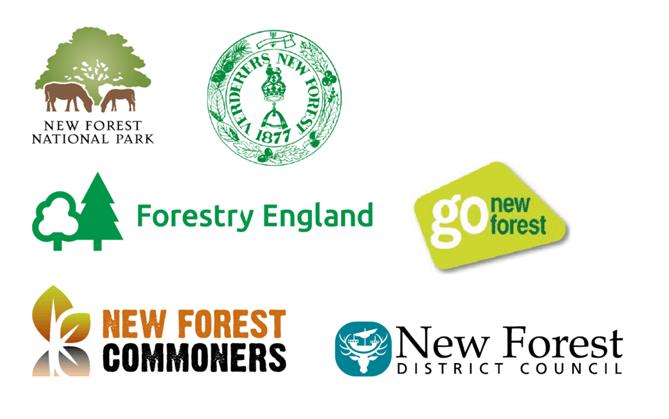 New Forest code partner logos
